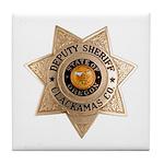 Clackamas County Sheriff Tile Coaster