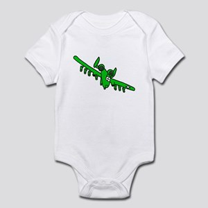 A-10 Green Infant Bodysuit