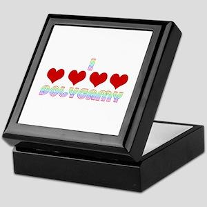 I Love Polygamy Keepsake Box