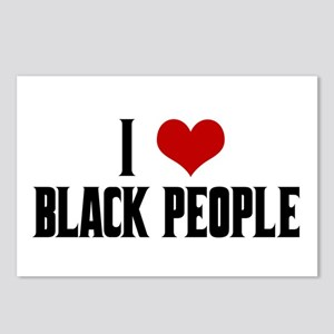 I Love Black People Postcards (Package of 8)