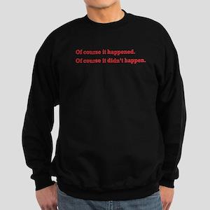 Of Course - Sweatshirt (dark)
