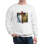Crucifix/Pieta Sweatshirt (front print only)