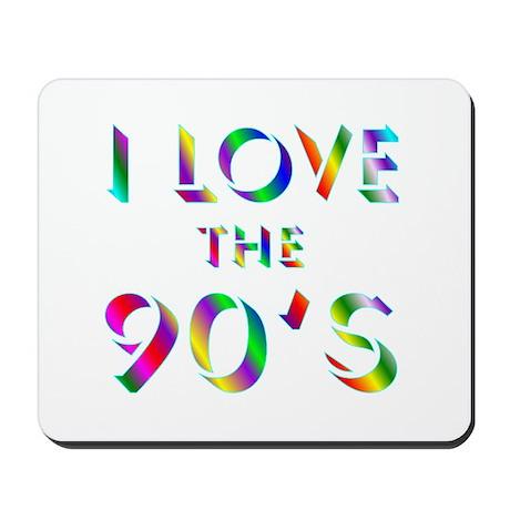 Love 90's Mousepad