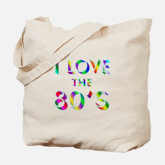 Love 80's Tote Bag