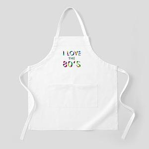 Love 80's BBQ Apron
