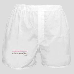 Flute Trill Boxer Shorts