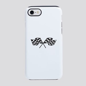 Checkered Flag, Race, Racing iPhone 8/7 Tough Case