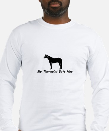 mytherapisteatshay logo Long Sleeve T-Shirt