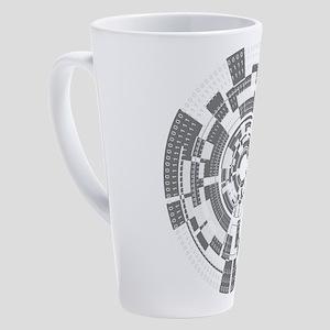 Bits and Bytes 17 oz Latte Mug