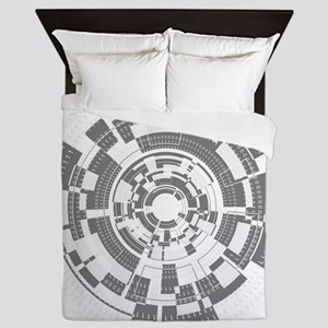 Bits and Bytes Queen Duvet