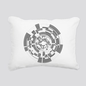 Bits and Bytes Rectangular Canvas Pillow