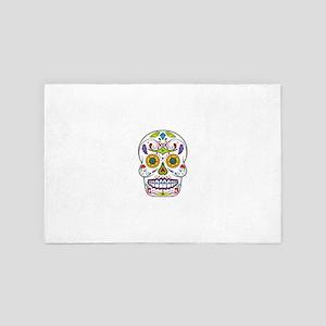 Sugar Skull 4' x 6' Rug