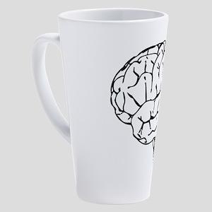 Brain 17 oz Latte Mug