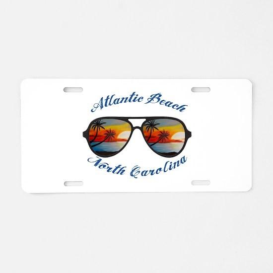 North Carolina - Atlantic B Aluminum License Plate