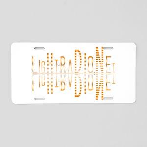 LightWave Aluminum License Plate