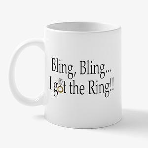 Bling Bling I Got The Ring Mug