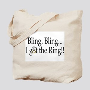 Bling Bling I Got The Ring Tote Bag