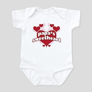 PAPA'S SWEETHEART Infant Bodysuit