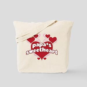 PAPA'S SWEETHEART Tote Bag