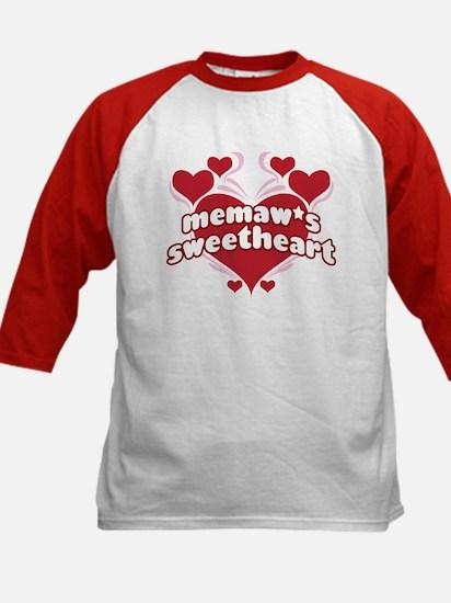 MEMAW'S SWEETHEART Kids Baseball Jersey