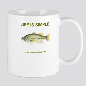 LIFE IS SIMPLE. Mug