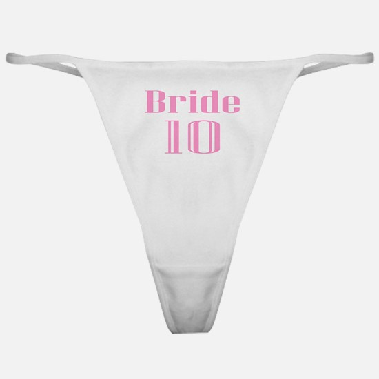 Bride 10 Classic Thong