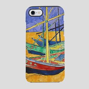 Van Gogh Boats iPhone 8/7 Tough Case