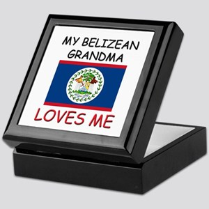My Belizean Grandma Loves Me Keepsake Box