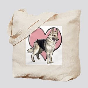 GSD heart Tote Bag