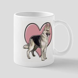 GSD heart Mug