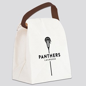 Panthers Lacrosse Canvas Lunch Bag