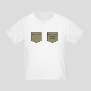 Roger Work Man Tee Toddler T-Shirt
