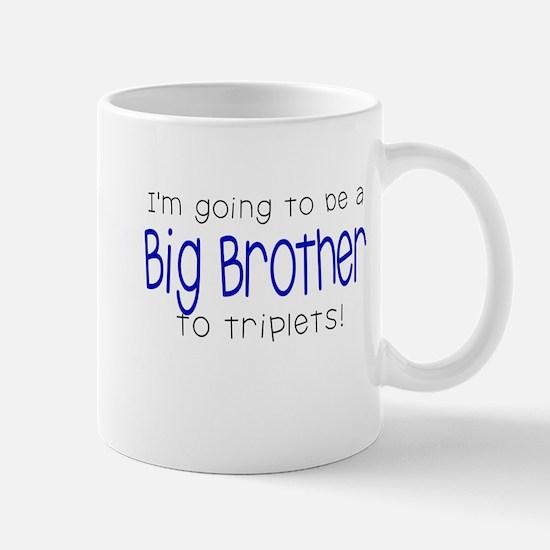 Big Brother to Triplets Mug