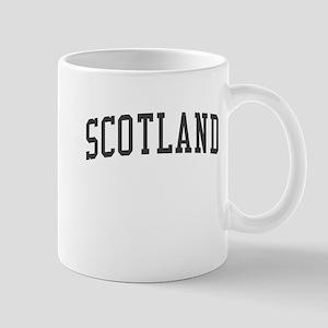 Scotland Black Mug