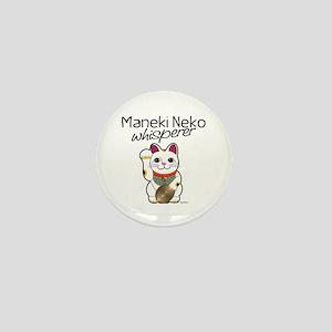 Maneki Neko Whisperer Mini Button