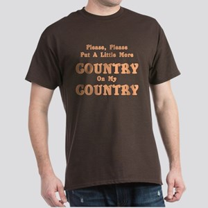 Country - More Country! Dark T-Shirt