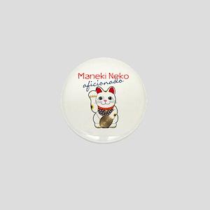 Maneki Neko Mini Button
