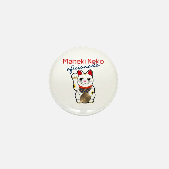 Maneki Neko Mini Button