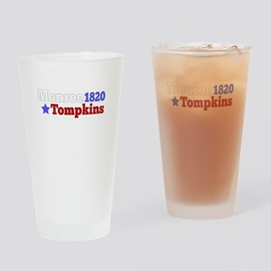 James Monroe and Daniel D. Tompkins Drinking Glass