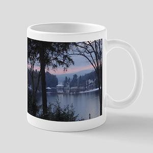 Lake George in Wintertime Mug