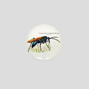 Tarantula Hawk Wasp Mini Button