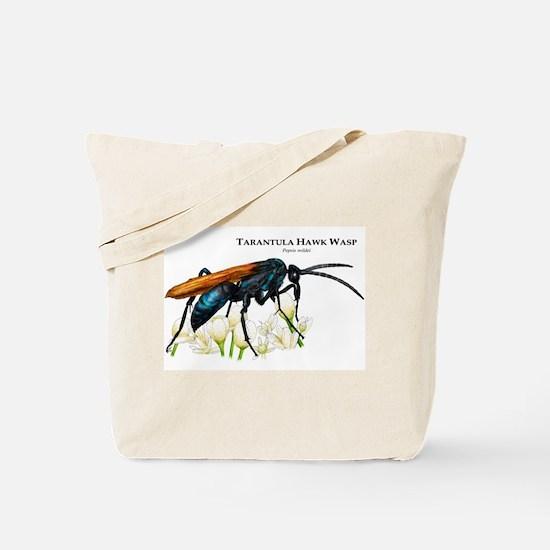 Tarantula Hawk Wasp Tote Bag