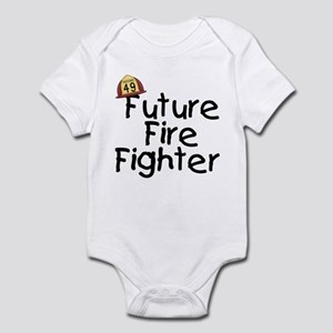 Future Fire Fighter Infant Body Suit