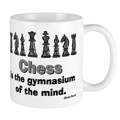Chess Player Mug