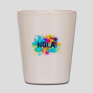 Good Vibes NOLA Burst Shot Glass