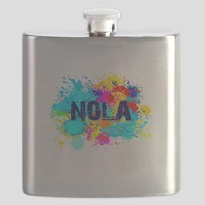 Good Vibes NOLA Burst Flask