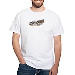 Steel Belted Radio White T-Shirt