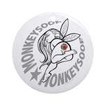 Monkeysoop Faery Ornament (Round)