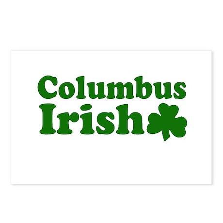 Columbus Irish Postcards (Package of 8)