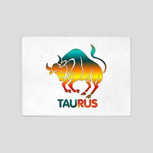 Rainbow Taurus 5'x7'Area Rug